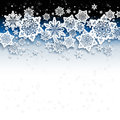 Abstract snow background winter with snowflakes Royalty Free Stock Photo