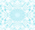 Abstract snowflake Royalty Free Stock Image