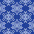 Abstract snowflakes seamless pattern christmas Stock Images