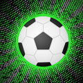 Abstract soccer background Royalty Free Stock Images