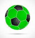 Abstract soccer ball Royalty Free Stock Photo