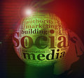 Abstract Social media background Stock Photos