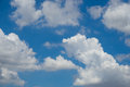 Abstract softly cloud with blue sky asia thailand Royalty Free Stock Photos