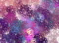 Abstract Space Universe With S...