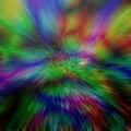 Abstract space warp background Royalty Free Stock Photography