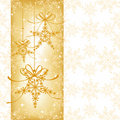 Abstract sparkling Christmas seamless pattern Royalty Free Stock Image