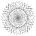 Abstract Spiral, Guilloche-lik...