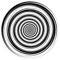 Abstract spirally element. Spinning, vortex graphic. Concentric