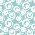 Abstract spirals seamless pattern Stock Image