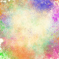 Abstract Splatter Paint Backgr...