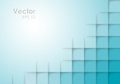 Abstract Square Blue Vector Background Royalty Free Stock Photo