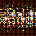 Abstract square mosaic Stock Photography