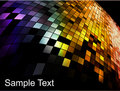 Abstract square pixel mosaic background Royalty Free Stock Photo