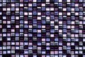 Abstract square pixel mosaic background and texture Royalty Free Stock Photo