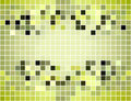 Abstract square seamless tiled mosaic background Stock Photography