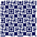 Abstract square tile seamless background Royalty Free Stock Photo