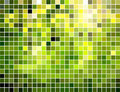 Abstract square tiled mosaic background Stock Images