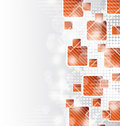 Abstract squares blank background Royalty Free Stock Photography