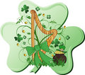 Abstract St. Patrick's Royalty Free Stock Photos