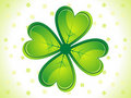 Abstract st patricks day card Stock Photography