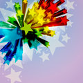 Abstract Star Background Stock Photos