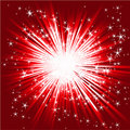 Abstract star burst Royalty Free Stock Photo