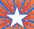 Abstract star burst background Royalty Free Stock Photo