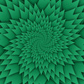 Abstract star mandala decorative pattern green background square image, illusion art image pattern, background photo Royalty Free Stock Photo