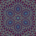 Abstract star ornament light gray purple blue