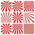 Abstract starburst red background. Radial lines in Royalty Free Stock Photo