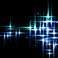 Abstract stars colored light blue color black surface Royalty Free Stock Photo