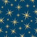 Abstract stars seamless background. Royalty Free Stock Image