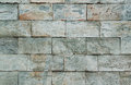 Abstract stone wall detail full frame of a Stock Photography