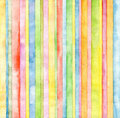 Abstract Strip Watercolor Back...