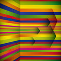 Abstract striped background with the arrows. Royalty Free Stock Photo