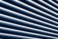 Abstract striped background made from window blinds Royalty Free Stock Image
