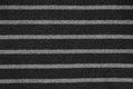 Abstract striped black and white fabric texture Stock Photo