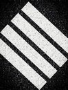 Abstract stripes on asphalt Stock Photos