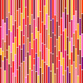 Abstract Stripes in Hot Colours Stock Images