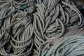 Abstract study of Rope Royalty Free Stock Photo