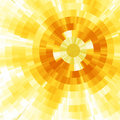 Abstract Sun Stock Photo