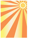 Abstract sun background Stock Photo