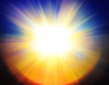 Abstract sun background Royalty Free Stock Photo