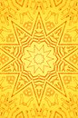 Abstract sun kaleidoscope suitable as background Royalty Free Stock Image