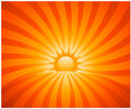 Abstract sunburst Stock Photography