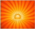 Abstract sunburst Royalty Free Stock Photo