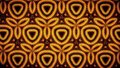 Abstract sunflower pattern wallpaper flower gold yellow orange color background Stock Image