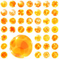 Abstract sunny illustration usable for different design Royalty Free Stock Photo