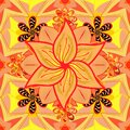 Colour Summer Theme seamless pattern Background