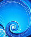 Abstract swirl. Royalty Free Stock Images
